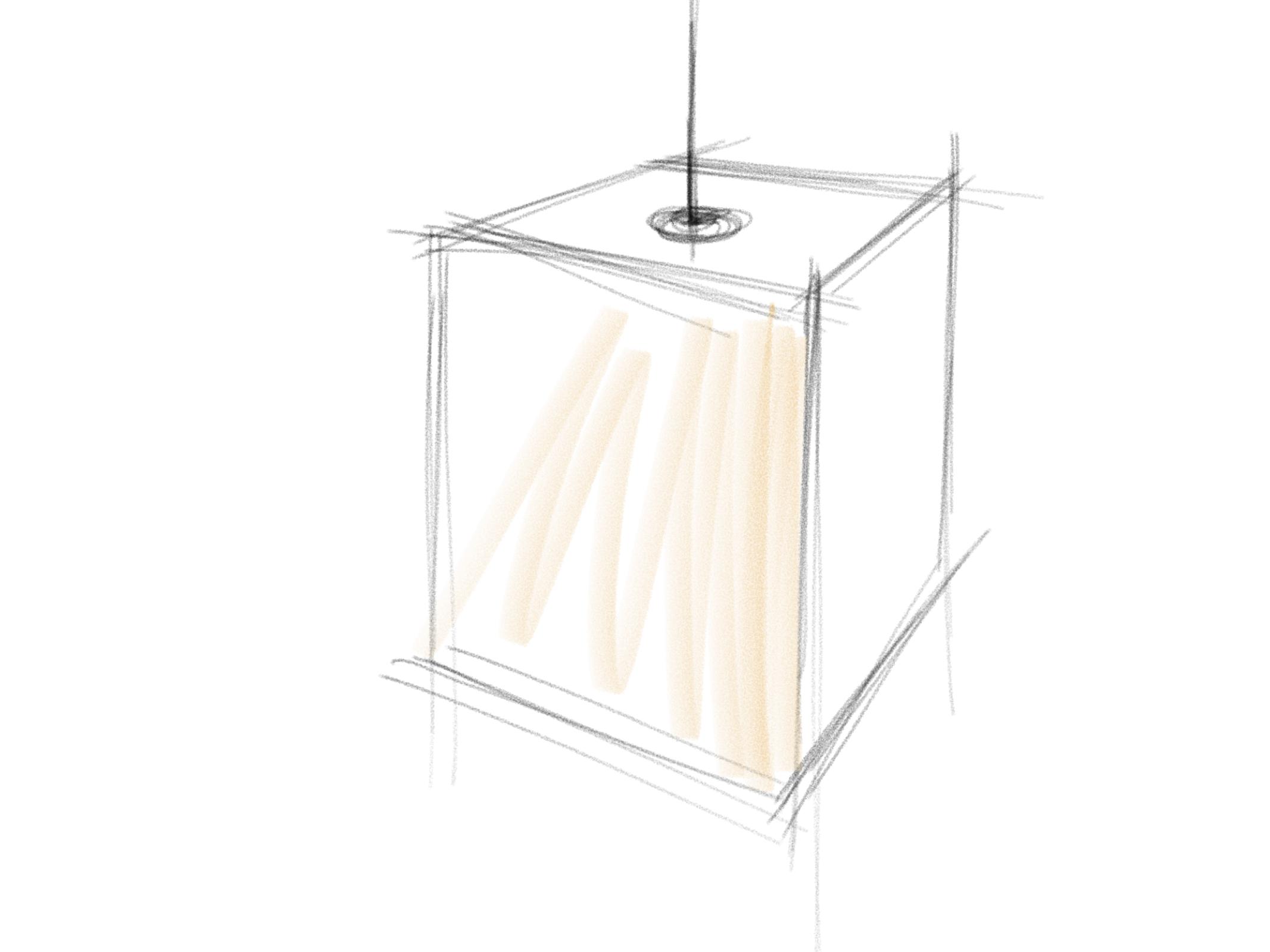 Concept 4: a lantern